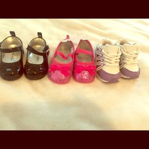 Baby Girl Shoe bundle - size 2